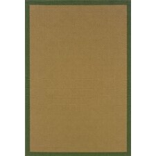 <strong>Oriental Weavers Sphinx</strong> Lanai Beige/Green Border Rug