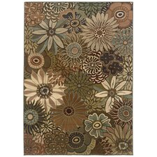 Odyssey Green/Brown Rug