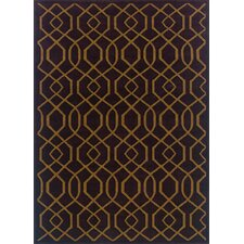 Knightsbridge Purple/Brown Rug