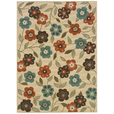 Montego Ivory Multi Outdoor Rug