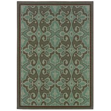 Montego Blue/Brown Rug