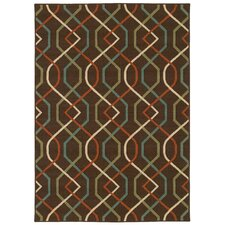Montego Brown/Ivory Outdoor Rug