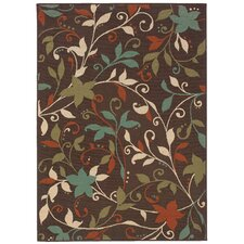 Montego Brown/Green Outdoor Rug
