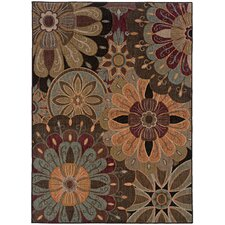 Palermo Brown Multi Rug