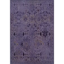 Revival Purple/Gray Rug