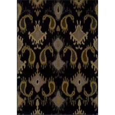 Stella Black/Gray Rug