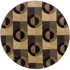 Tones Brown/Grey Accents Rug