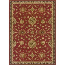 Nadira Elana Red Rust/Tan Rug