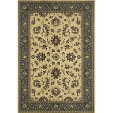 Ariana Ivory/Blues Persian Rug