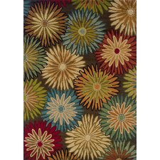 Emerson Brown/Blue Flamboyance Rug
