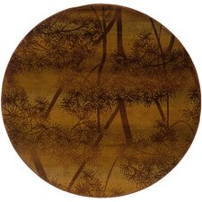 Odyssey Rust/Brown Rug
