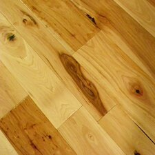 Tuscan Random Width Engineered Hickory Flooring in Casentino