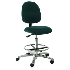Mid-Back Bench Height Office Chair