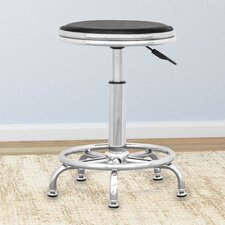 Workspace Height Adjustable Office Stool (Set of 2)