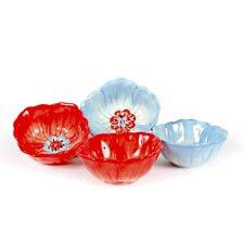 Dixie Belle Floral Tidbit Bowl (Set of 4)