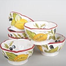Lemon Chatta 24 oz. Bowl (Set of 6)