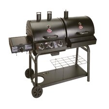 Duo Gas and Charcoal Barbecue