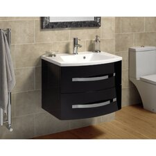 Vue Wash Basin and Wall Hung Drawer Unit