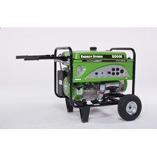 Energy Storm 8000 Watt Gasoline Generator with Wheel Kit