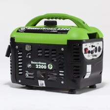 Energy Storm 2200 Watt Gas Generator with Recoil Start
