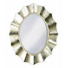<strong>Howard Elliott</strong> Corona Mirror in Silver