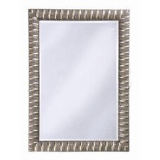 Pharaoh Wall Mirror in Silver Leaf