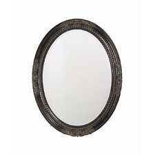 Queen Ann Mirror with Black Finish