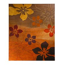 Floral Graphic Art Plaque
