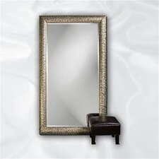 <strong>Howard Elliott</strong> Daniel Leaner Mirror in Mottled Silver Leaf