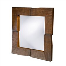 Hayward Wall Mirror in Oak Finish