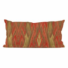 Kidney Ikat Rayon Pillow