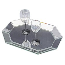 <strong>Howard Elliott</strong> Octagonal Decorative Mirrored Tray