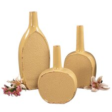 3 Piece Ceramic Bottle Set