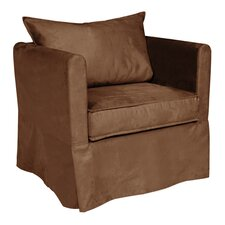 Alexandria Microsuede Arm Chair