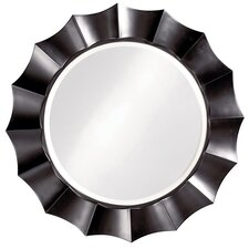 Corona Mirror with Silver Finish