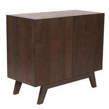 Veneer 2 Door Wood Cabinet