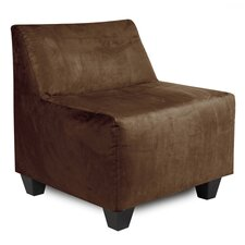 Pod Microsuede Slipper Chair