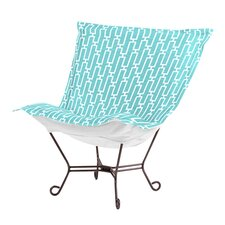 Puff Scroll Bahama Breeze Lounge Chair