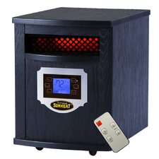 1,500 Watt Infrared Electric Heater with Remote Control