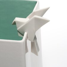 Origami Bird Planter Accent Figurine