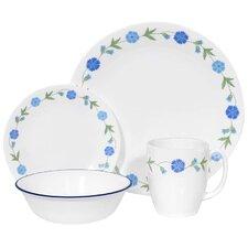 Livingware Spring Blue 16 Piece Dinnerware Set