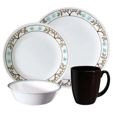 Livingware Tree Bird 16 Piece Dinnerware Set