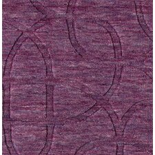 Uptown Plum Solid Rug