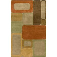 Craft Green Tribal Rug