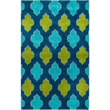 Fusion Blue/Green Area Rug