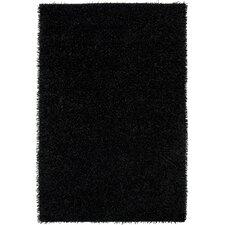 Kempton Shag Black Rug