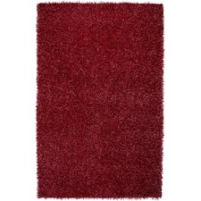 Kempton Shag Lipstick Red Rug