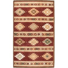 Southwest Red Rug