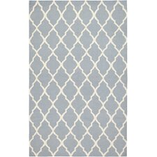 Swing Gray Lattice Area Rug