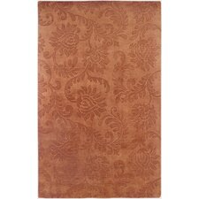 Uptown Rust Solid Rug